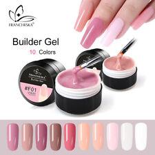 Nail Art UV Gel Builder Quick Extension Poly Gel Glass Fiber Pen Brush Set Kit