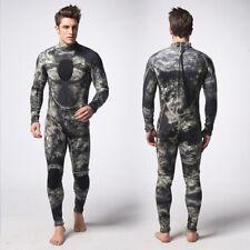 New listing Men's 3mm Camo Neoprene Wetsuit Wet Suit Full Body Surf Diving