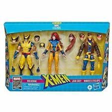 """Marvel Legends X-Men Jean Grey, Cyclops & Wolverine 6"""" Af 3-pack Nwt"""