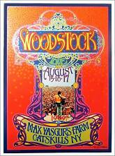 Woodstock Poster 2014 45th Anniversary Original Litho Signed by Bob Masse