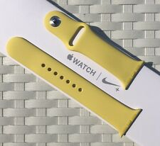 Genuine Apple Watch Sport Band Strap 38mm /40mm CANARY YELLOW *RARE*