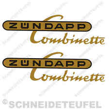 ZÜNDAPP COMBINETTE AUFKLEBER SET NEU - 31130