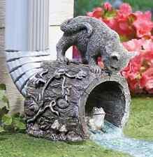 Rain Gutter Downspout Unique Lawn & Home Garden Decor Cat Kitten Frog Outdoor