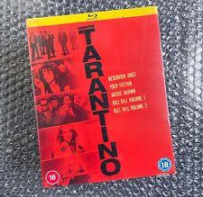 Tarantino Collection Bluray - Reservoir Dogs Pulp Fiction Kill Bill Jackie Brown