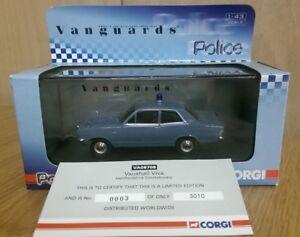 Corgi VA08708 Vauxhall Viva Hertfordshire Constabulary Ltd Ed. No. 0003 of 3010