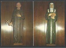 Holy card postale de San Vicente de Paul santino image pieuse estampa