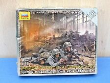 Zvezda 6106 1/72 WWII German M/Gun Crew 4 Figures - Snap Fit Kit *New & Sealed*