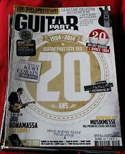 Guitar Part #242 French Language magazine Kurt Cobain Nirvana Joe Bonamassa