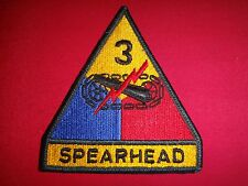 US 3rd ARMORED Division SPEARHEAD Patch