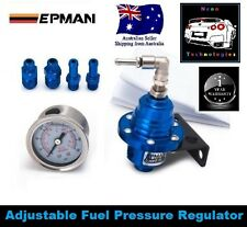 BLUE Adjustable Fuel Pressure Regulator TYPE S *FPR WRX Reg V8 Turbo HSV FPV*