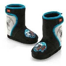 BRAND NEW! Disney Store STAR WARS DARTH VADER Soft Boots/Slippers KIDS SIZE 9/10