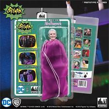 BATMAN CLASSIC TV SERIES 2 HEROES IN PERIL; ALFRED   8 INCH FIGURE PURPLE BAG
