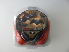 Sakar Batman v Superman Kids Volume-Limiting Stereo Headphones New