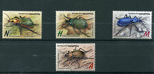 Belarus 2016 MNH Insects Ground Beetles 4v Set Red Book of Belarus