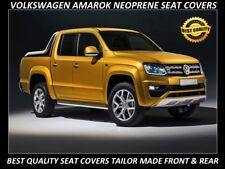 VOLKSWAGEN AMAROK FRONT& REAR FULL BACK  NEOPRENE SEAT COVERS ( WETSUIT FABRIC )