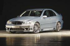 Rieger Seitenschweller mit Schacht und Ausschnitten Mercedes Benz C-Klasse W203