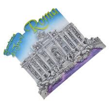 3D Souvenir Rome Trevi Fridge Magnet Appliances Decor Flexible Resin Collectible