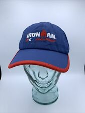 Ironman Triathlon Lake Placid Finisher Dri-fit Lightweight Running Hat.