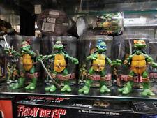 4 PCS NECA TMNT Teenage Mutant Ninja Turtles Model Color Headband Action Figures