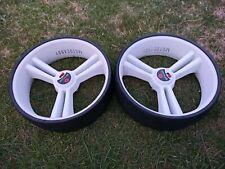 "Pair of MOTOCADDY  Golf Cart wheels  -  Approx 10"" Diameter - SEE PICS"