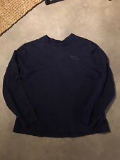 Mens Y-3 Navy Jumper Size XL