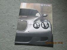 NOS Jaguar S Type Overlarge Prestige Sales Brochure S-Type R 4.2 Sport SE 2007