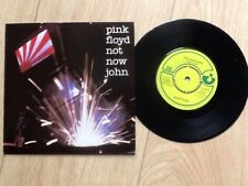 "PINK FLOYD . NOT NOW JOHN 7"" . ROGER WATERS . DAVE GILMOUR"