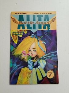 Battle Angel Alita #7 - Viz 1992 - 1st Series VF