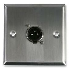 WALL PLATE XLR PLUG Audio Visual Wall Plates and Floor Boxes - CV56508