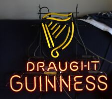 Draught Guinness Neon Sign Works! Evertron Man Cave Decor!