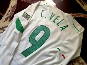 Jersey mexico Carlos Vela 2005 nike (S) player issue long sleeve champions T90