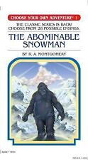 Choose Your Own Adventure #1 Abominable Snowman by Montgomery R a Paperback Boo