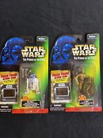 Star Wars Power of the Force R2-D2 & C-3PO 2-Figure Freeze Frame Lot R2D2 C3PO
