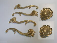SIX MOULDINGS ANTIQUE GOLD CUPBOARD DECORATIVE FURNITURE MOULDINGS