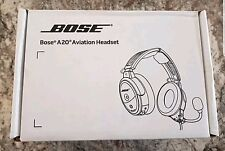 NEW Bose A20 Aviation Headset - G.A. Twin Plug,  324843-2020 non-Bluetooth