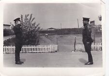 1960s Soviet officers general Military Salute Red Army old Russian Soviet photo