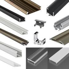 LED Aluminium Profile Abdeckungen Clips Endkappen, Alu Schiene