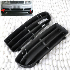 Front Bumper Lower Grille Vent set for 1999-2001 02 2003 2004 VW Jetta Bora MK4