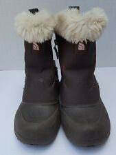 The North Face Girl Youth Winter Snow Boots Fur Heat Seaker waterproof 6 5 38