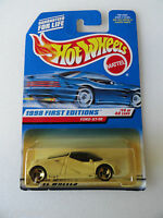 Hot Wheels 1998 FIRST EDITIONS FORD GT-90 YELLOWED CARD