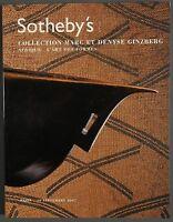 Sothebys African Art Ginzberg Collection September 2007