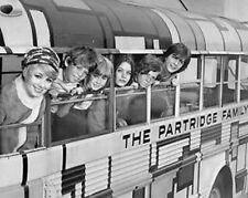 David Cassidy Partridge Family Bus BW 10x8 Photo