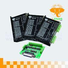 3Axis Stepper motor driver PEAK 4.2A,18-50VDC CNC New DM542A