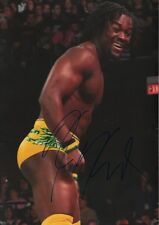 "Kofi Kingston ""Wrestling"" AUTOGRAFO SIGNED 20x30 cm immagine"