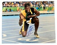 USAIN BOLT Original Signed Autographed 11X14 OLYMPICS Photo COA Authentic 05