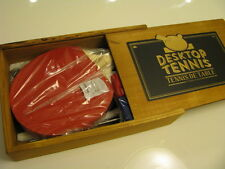 NEW NPW Desk Top Tennis in Nice Wooden Box Great Gift From Nordstrom