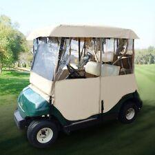 Driving Enclosure Golf Cart Cover Fit EZ Go Club Car Yamaha Cart BY 2 Passenger