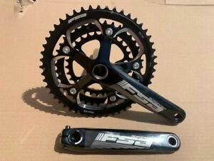 FSA Gossamer MegaExo 30T 39T 50T Triple Road Bike 10 Speed Chainset 172.5mm