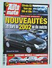 MAGAZINE - ACTION AUTO MOTO N° 84 - NOVEMBRE 2001 *