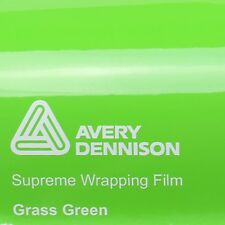 ( 21,70€/m ²) Avery Supreme ENVOLTURA FILM Brillante Grass Verde Brillo